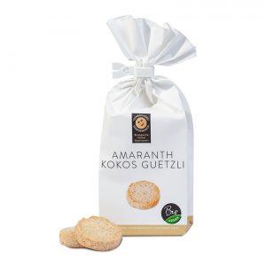 Amaranth Kokos Guetzli –Feinbäckerei Guggenloch