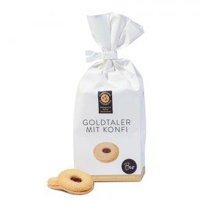 Goldtaler mit Konfitüre –Feinbäckerei Guggenloch