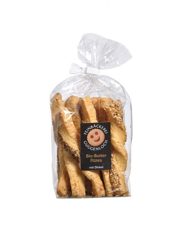 Butterflûtes Sesam –Feinbäckerei Guggenloch