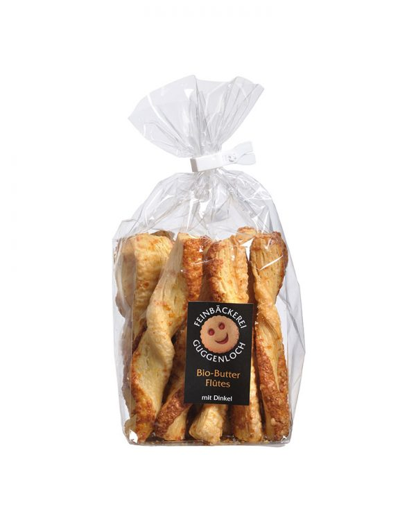 Butterflûtes Käse –Feinbäckerei Guggenloch