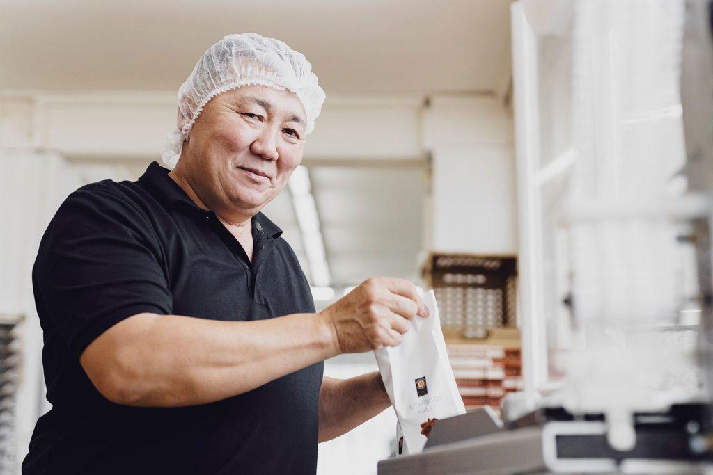 Feinbäckerei Guggenloch – Produktion